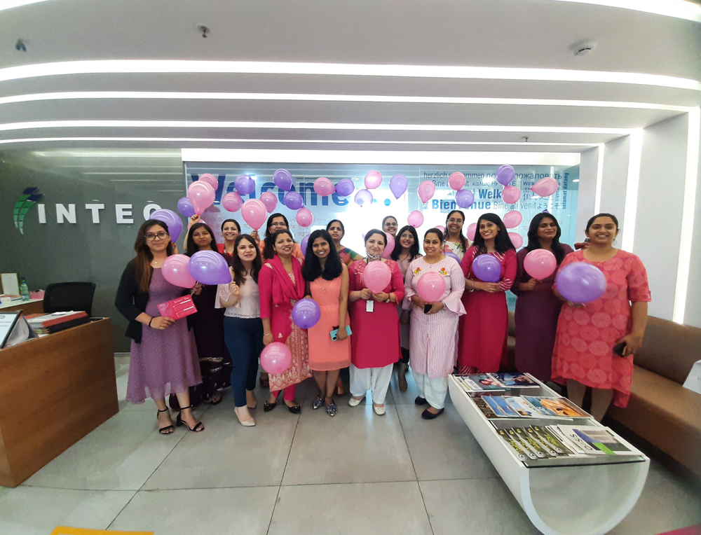 Women's day celibration 2021 in Intec