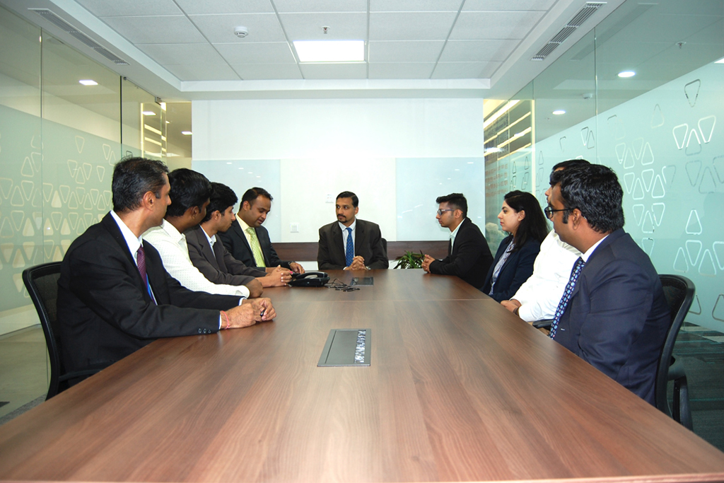 Intec Infra-Technologies office meeting
